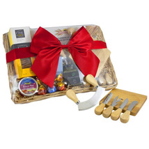 Cheese Set Picnic Basket: Christmas Gifts to Australia