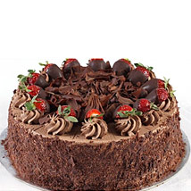 Chocolate Strawberry Cake: Wedding Gifts to Australia