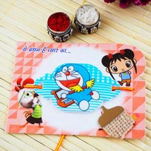 Doraemon kids Rakhi: Send Rakhi to Australia