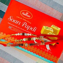 Pyar Bahar Rakhi Set With Soan Papdi: Send Rakhi to Australia