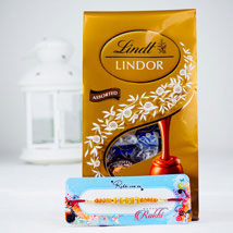 Pyar Bhara Rista Rakhi With Lindt chocolates: Send Rakhi to Australia
