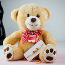 Pyare Bhaiya Rakhi With Teddy Bear: Send Rakhi to Australia