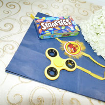 Angry Bird Rakhi with Fidget Spinner: Send Rakhi to Toronto
