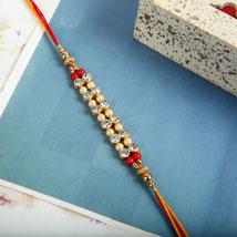Beads of Love Rakhi: Send Rakhi to Winnipeg