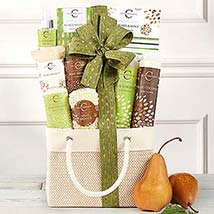 Coconut Pear Spa Assortment: Gift Basket Delivery in Canada