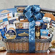 Crowd Pleaser Basket: Gift Hampers to Canada