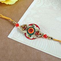 Elegant Embroidery Rakhi: Rakhi to Calgary