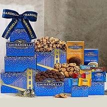 Ghirardelli Tower Hamper: Gift Hampers to Canada