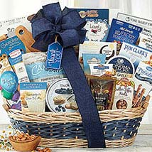 Many Thanks Basket: Gift Hampers to Canada