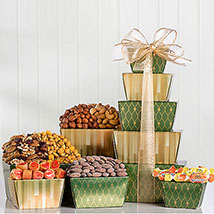 Nut and Sweets Tower: Gift Hampers to Canada