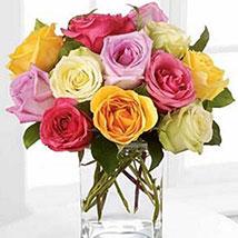 Rose Fest Arrangement: Valentines Day Flowers Canada