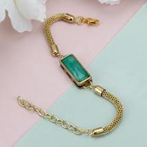 Premium Green Stone Rakhi COL: