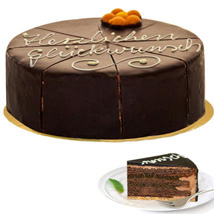 Dessert Sacher Cake: Send Gifts to Frankfurt