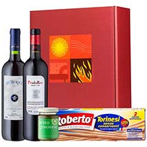 Gourmet Set Hot Flavour: Send Birthday Gifts to Germany