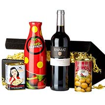 Gourmet Set Spanish Tradition: Gift Hampers to Germany