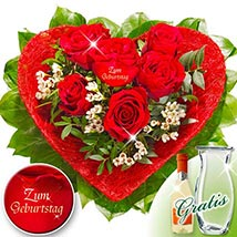 Heart of Rose: Valentines Day Gifts to Germany