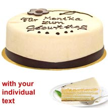 Marzipan Cake: Send Birthday Cakes to Munich