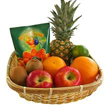 Our Fruity Gift Basket: Father's Day