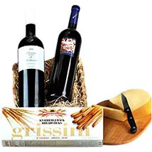 Romantic Wine Hamper: Father's Day