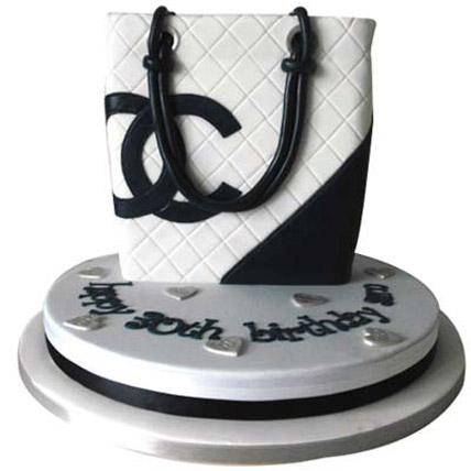 Classy Chanel Bag Cake 5kg