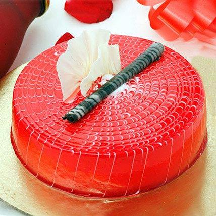 Crimson Love Cake 2KG Eggless