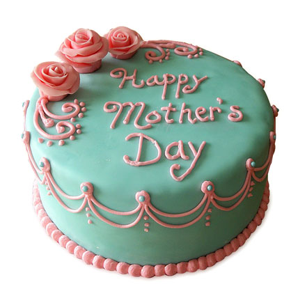 Delectable Mothers Day Cake 2kg Eggless Butterscotch