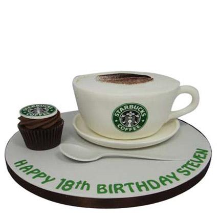 Forever Starbucks Cake 2kg