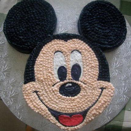 Funny Mickey Mouse Cake 2kg Eggless