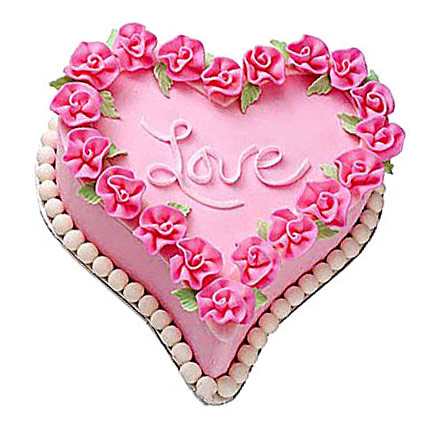 Gift A Heart Cake 2kg