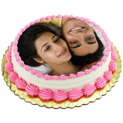 Personalized Creamy Lusciousness 2kg Eggless