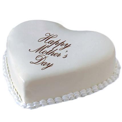Pure Love Mom Cake 1kg Eggless