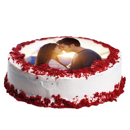 Red Velvet Photo Cake 1kg
