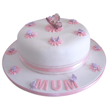 Simple and Sweet Love Mom Cake 2kg Truffle