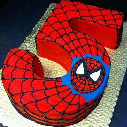 Spiderman Birthday Treat 4kg Eggless