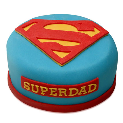 Yummy Super Dad Special Cake 1kg