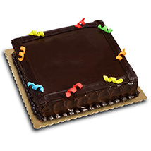 Chocolate Express Cake: Birthday gifts