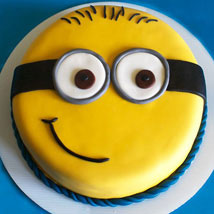 Cute Minion Cake: Send Designer Cakes