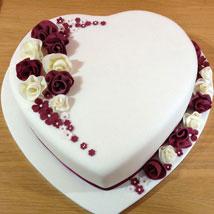 Divine Heart Cake: Designer Cakes