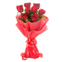 Enigmatic Red Roses: Birthday Gifts