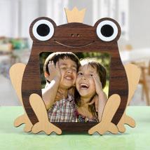 Frog Personalized Photo Frame: Personalised Gifts