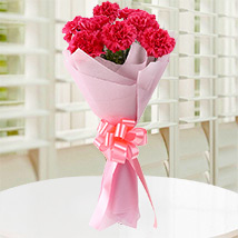Pink Carnations N Love: Flower Bouquets