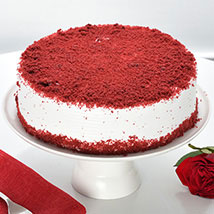 Red Velvet Fresh Cream Cake: Congratulations Gifts