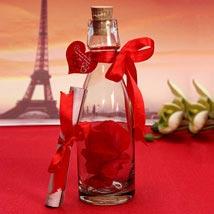 Unique Message In A Bottle: Romantic Gifts