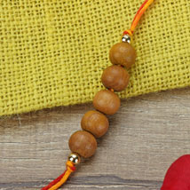 Simple Chandan Rakhi NEP: Rakhi to Nepal