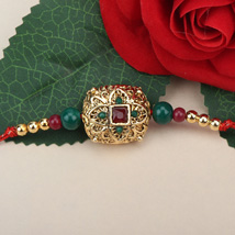Traditional Antique Rakhi NZ: Send Rakhi to New Zealand