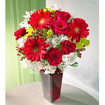 Cheerful Greetings: Flowers for Anniversary