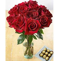 Redhot Delight: Flowers and Chocolates to Philippines