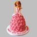 Flamboyant Barbie Cake Vanilla 2kg