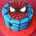 Just For You Spiderman Cake 3Kg Chocolate