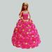 Pink Barbie Cake Vanilla 2kg